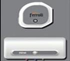 Bình nóng lạnh Ferroli 51QQM15-Ex - 15 lít màu ghi