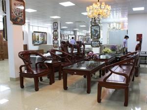 Trung tâm Hoàng Sơn Plaza trưng bày sản phẩm chuẩn bị đi vào hoạt động.