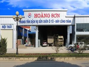 Công ty sắp  Khai trương Trung tâm dịch vụ sửa chữa ô tô - máy công trình Hoàng Sơn