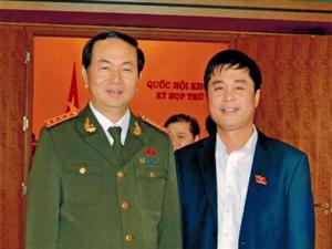 Bộ Trưởng Bộ Công an Trần Đaị Quang.