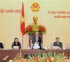 Khai mạc Phiên họp 35, Ủy ban Thường vụ Quốc hội khóa XIII.