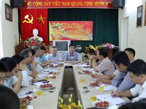 Chủ tịch HĐQT công ty kiểm tra tiến độ thi công dự án thủy điện Đồng Chum 2 trước khi vận hành không tải.