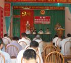 Đoàn ĐBQH tỉnh Hòa Bình tiếp xúc cử tri tại xã Xăm Khòe, huyện Mai Châu