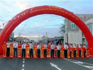 Thông xe Quốc lộ 1 đoạn qua tỉnh Bình Định.