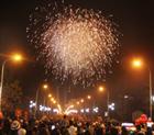 Hòa Bình có 9 điểm bắn pháo hoa giao thừa nhân dịp Tết nguyên đán Bính Thân 2016
