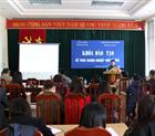 Hiệp hội doanh nghiệp tỉnh Hòa Bình khai giảng khóa đào tạo kế toán doanh nghiệp nhỏ và vừa.