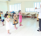Tiết học võ thuật lý thú tại Hệ thống giáo dục Hòa Bình – La Trobe – Hà Nội