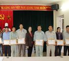 Công ty Hoàng Sơn khen thưởng tập thể, cá nhân trong đợt lụt bão tháng 10/2017