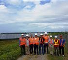 Thăm quan nhà máy điện mặt trời Cadiz Solar Power Plant 132.5 MW tại Philippines.