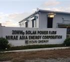 Đoàn công tác công ty thăm quan nhà máy điện mặt trời 20 MW Mirae Asia Emergy Corporation tại Laoag nước cộng hòa Philippines.