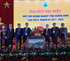 Chúc mừng đại hội đại biểu Hiệp hội Doanh nghiệp tỉnh Quảng Ninh lần thứ II, nhiệm kỳ 2017-2022.