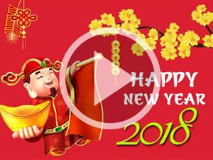 Công ty CP ĐT NL XD TM Hoàng Sơn chúc mừng năm mới xuân Mậu Tuất - 2018