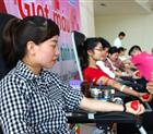 CBNV công ty tham dự chương trình Ngày hội hiến máu tình nguyện 2018.