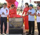 Khánh thành cầu treo Cố Nghĩa xã Cố Nghĩa, huyện Lạc Thủy.