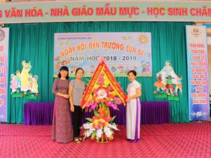 Công ty Hoàng Sơn chúc mừng lễ khai giảng năm học mới 2018 – 2019.