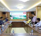Đoàn doanh nghiệp Hàn Quốc thăm và làm việc với Hiệp hội doanh nghiệp tỉnh Hòa Bình.