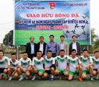 Giao hữu bóng đá kỷ niệm 88 năm ngày thành lập Đoàn TN CS HCM