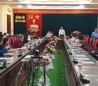 Đoàn công tác tỉnh Hòa Bình làm việc và thăm quan tại tỉnh Hà Giang.