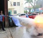 Tập huấn nghiệp vụ phòng cháy chữa cháy năm 2019.