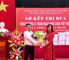 Công ty Hoàng Sơn Chúc mừng ngày nhà giáo Việt Nam 20-11 tại nhiều trường trên địa bàn thành phố Hòa Bình.