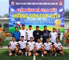 Giải bóng đá giao hữu Hoàng Sơn Cup 2019.
