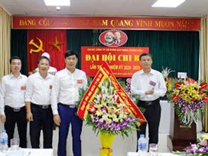 Chúc mừng đại hội Chi bộ Công ty CP XD Hoàng Sơn lần thứ III, nhiệm kỳ 2020-2025 thành công tốt đẹp.